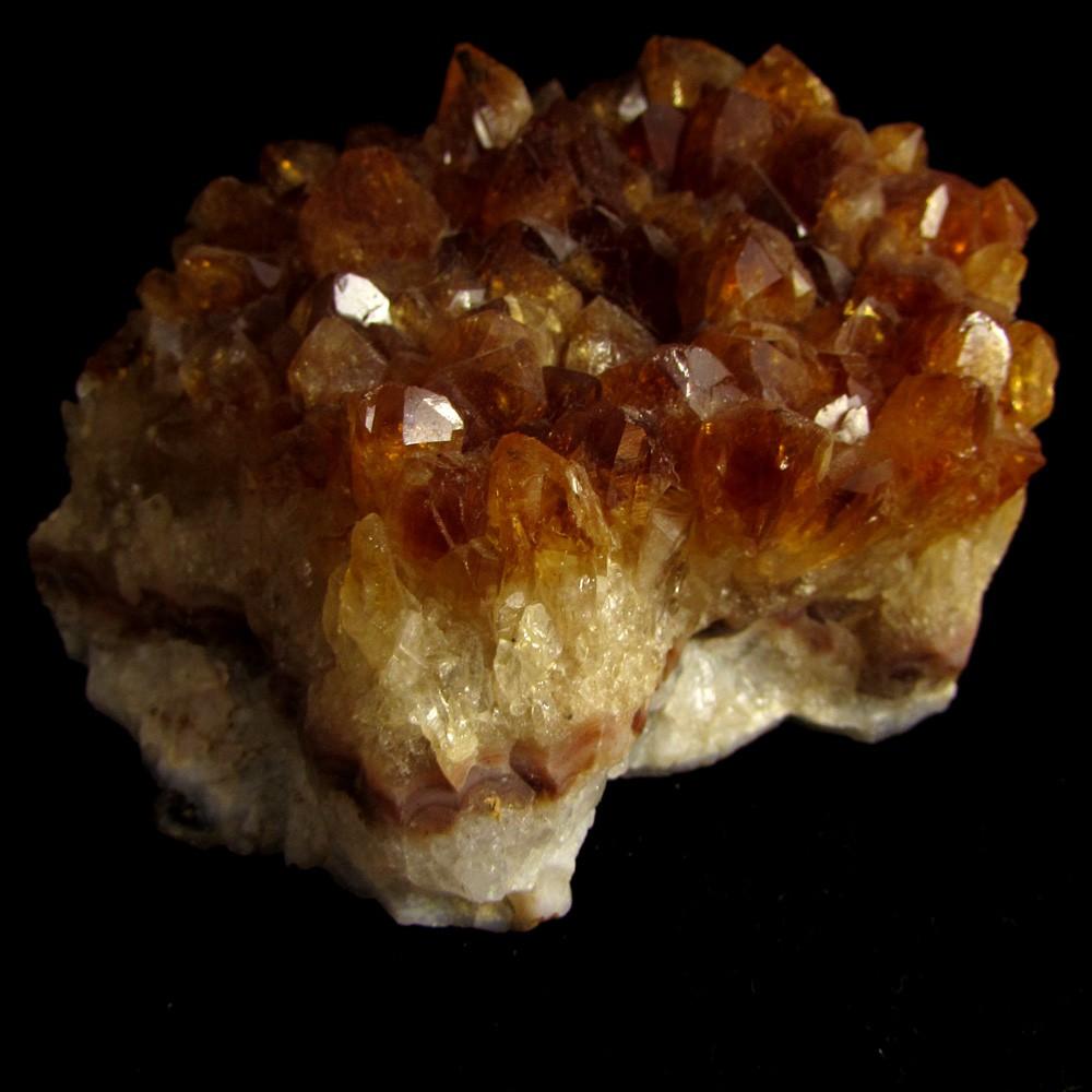 Drusa Citrino Pedra Natural Bruta - 5023
