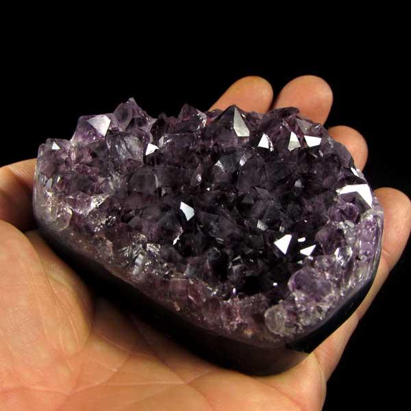 Drusa de Ametista Pedra Natural Lapidada - 7067