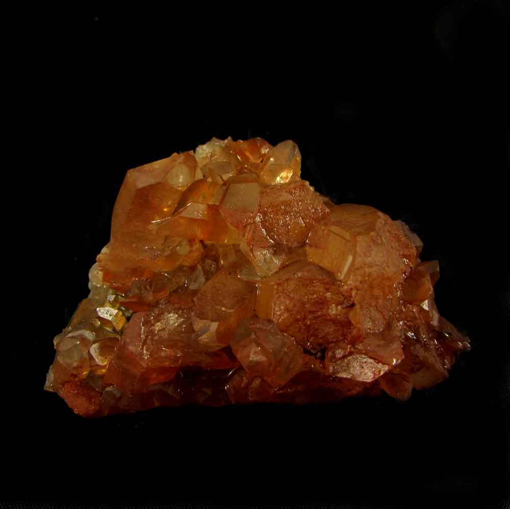 Drusa Quartzo Tangerina Pedra Natural Bruta - 4297