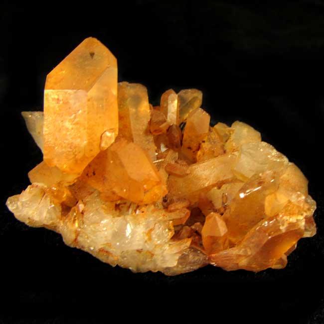 Drusa Quartzo Tangerina Pedra Natural Bruta - 5789