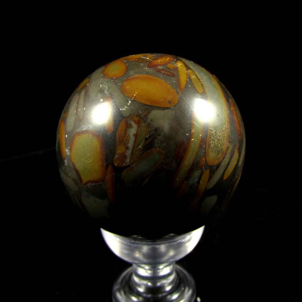 Esfera de Ágata Reconstituída Pedra Natural