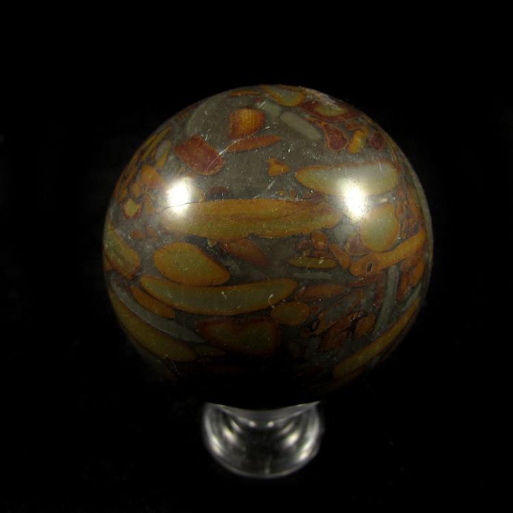Esfera de Ágata Reconstituída Pedra Natural - 5183