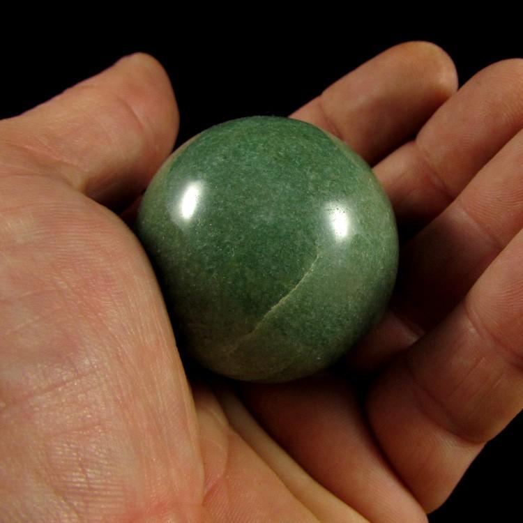 Esfera Quartzo Verde Pedra Natural - 5177
