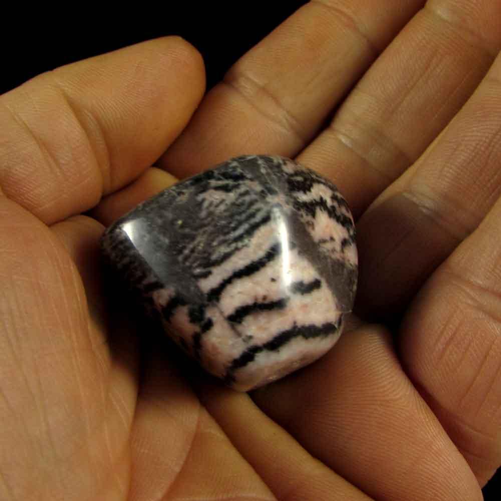 Jaspe Zebra Rosa Pedra Natural
