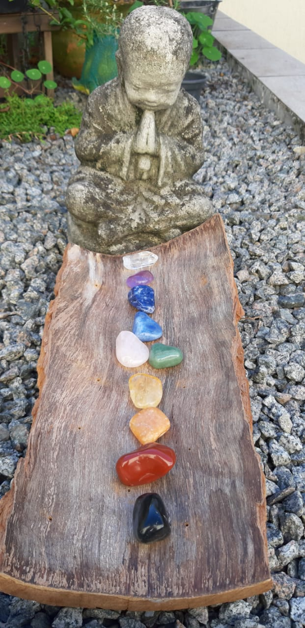 Kit Chakras - 10 Pedras Naturais