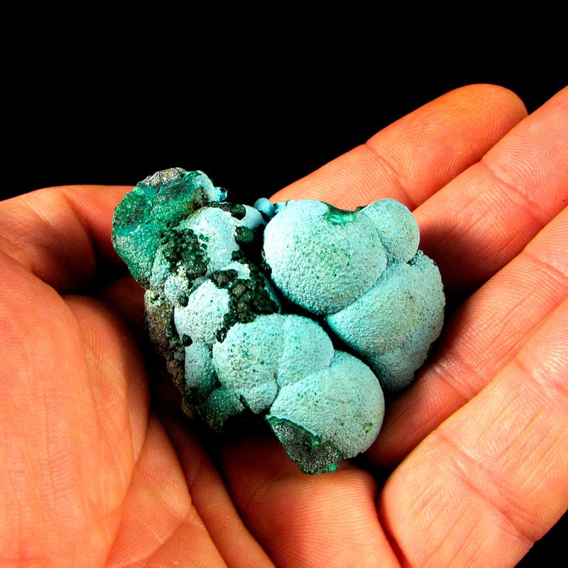 Malaquita com Crisocola Pedra Natural Bruta (4833)