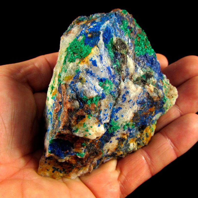 Azurita Pedra Natural Bruta - Frete Grátis-4863