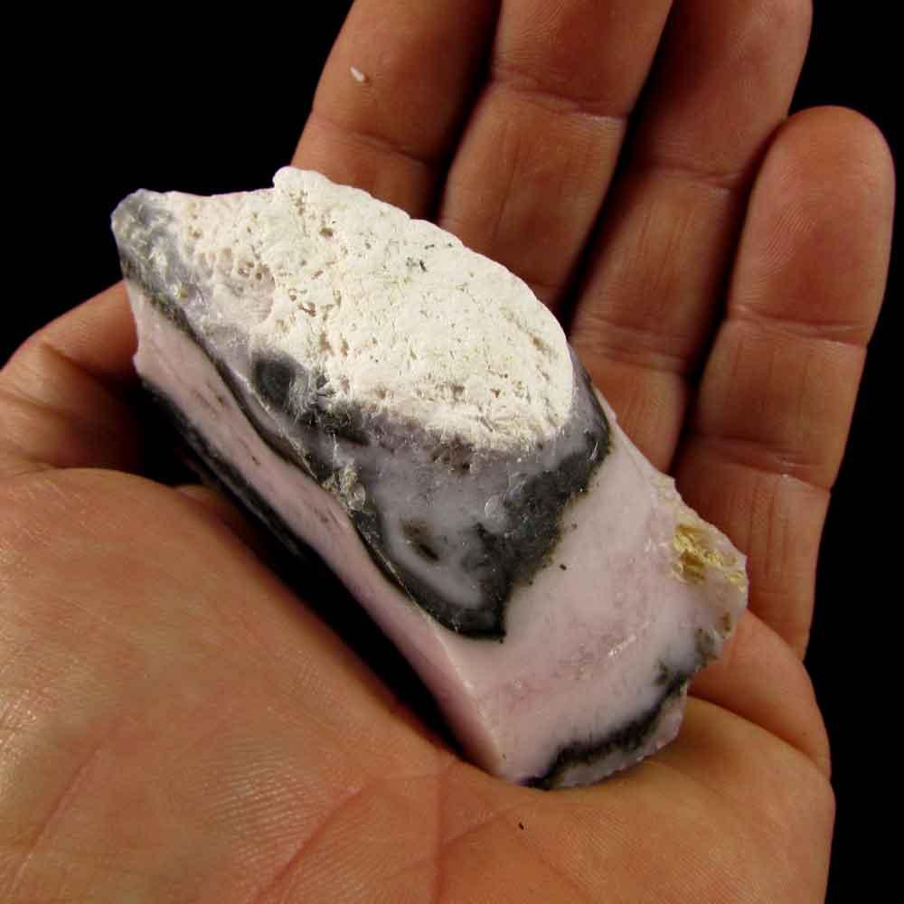 Opala Rosa Pedra Natural Bruta