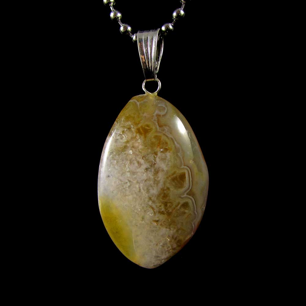 Pingente Ágata Pedra Natural