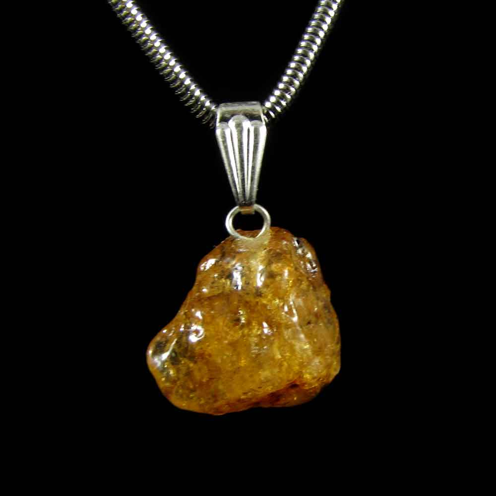 Pingente Âmbar Pedra Natural (3265)