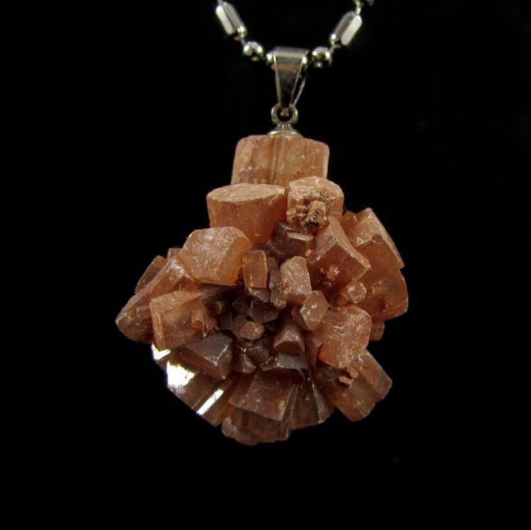 Pingente Aragonita Sputnik Pedra Natural - 5115