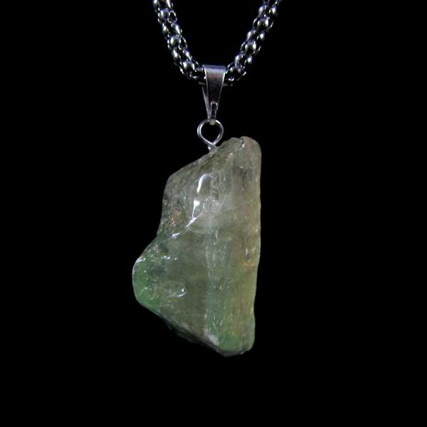 Pingente Calcita Verde Pedra Natural - 7099