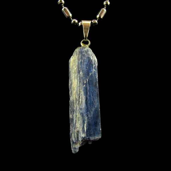 Pingente Cianita Azul Pedra Natural -6665
