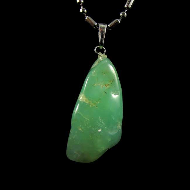 Pingente Crisoprásio Pedra Natural - 6315