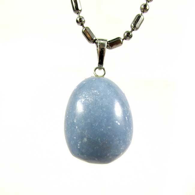 Pingente de Angelita Pedra Natural - 6079