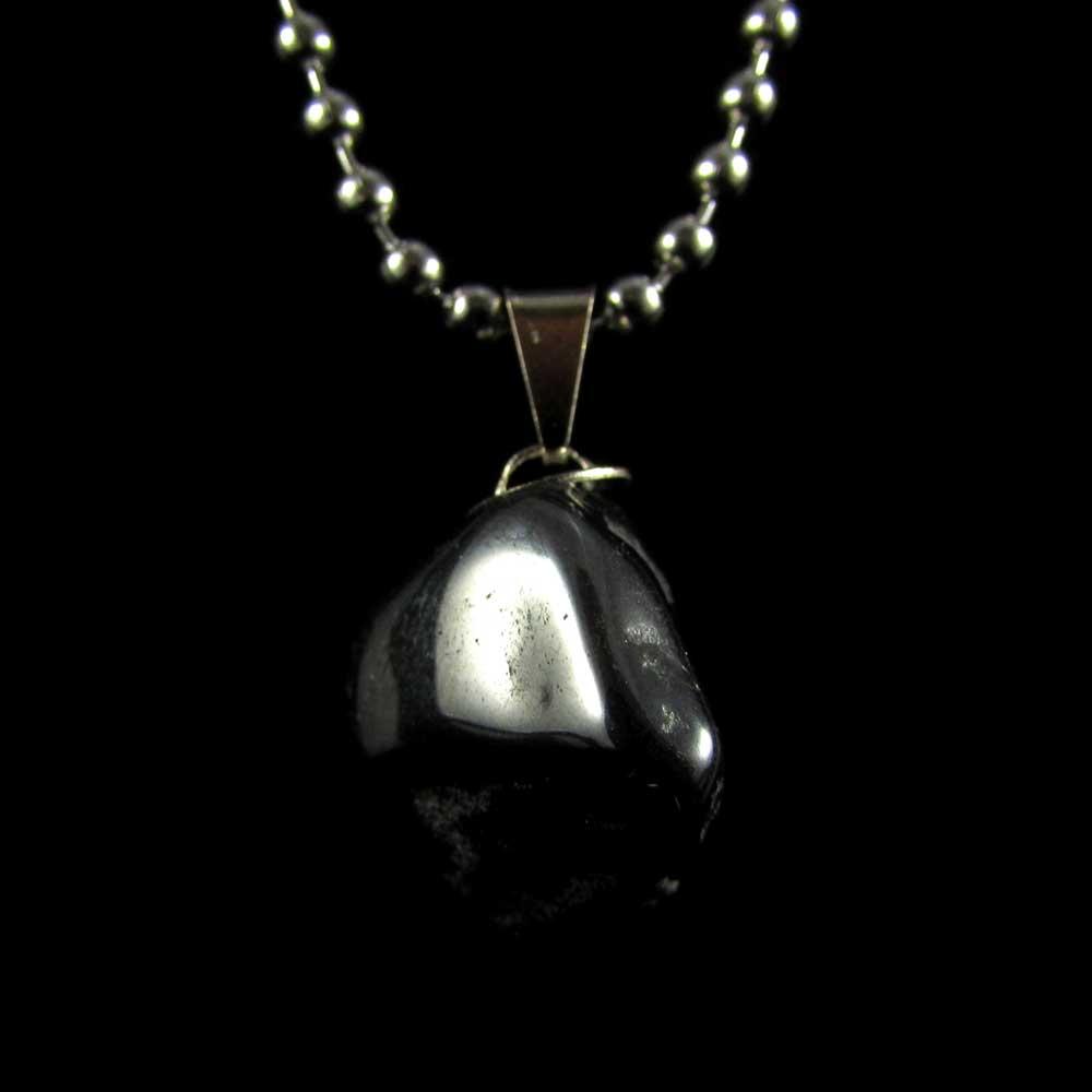 Pingente de Hematita Pedra Natural