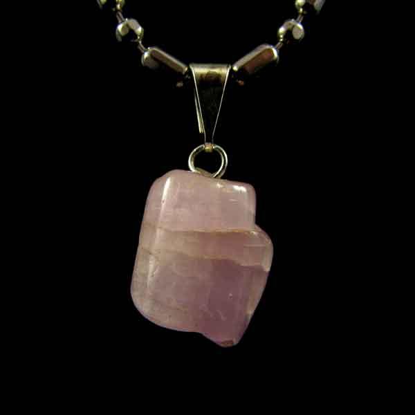 Pingente de Kunzita Pedra Natural - 6651