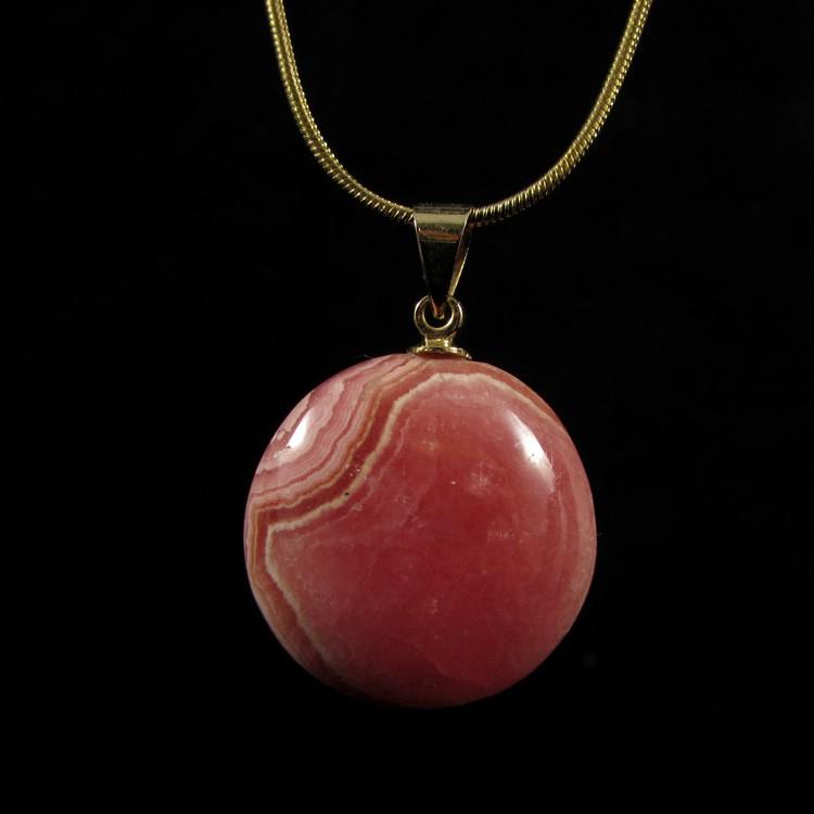 Pingente de Rodocrosita Pedra Natural - 5279