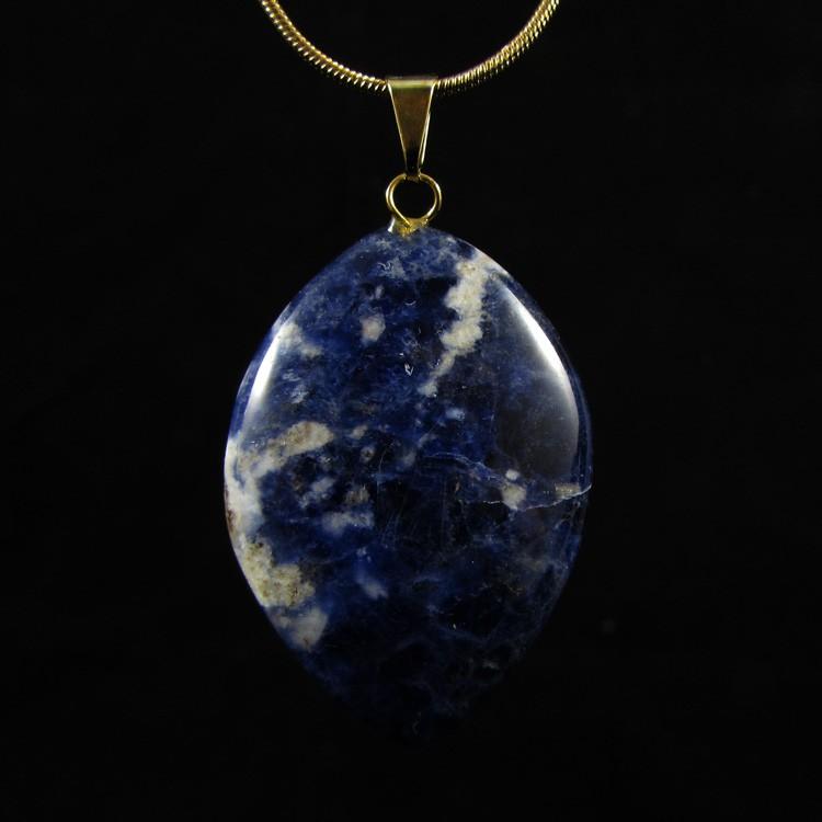 Pingente de Sodalita Pedra Natural - 5285