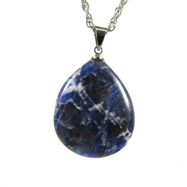 Pingente de Sodalita Pedra Natural - 6065