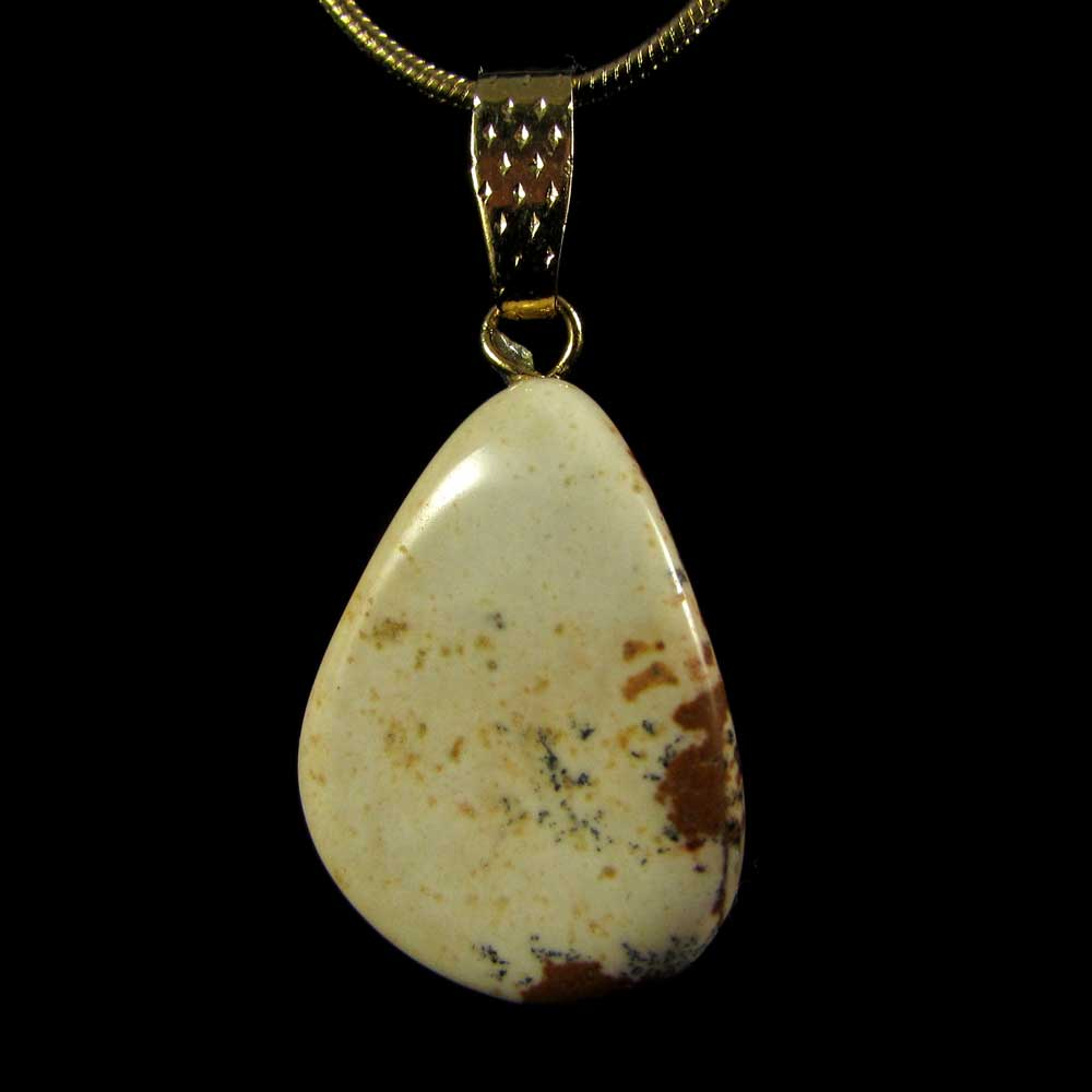 Pingente Jaspe Picture Pedra Natural