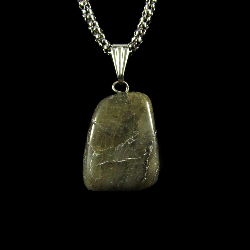 Pingente Labradorita Pedra Natural 1903