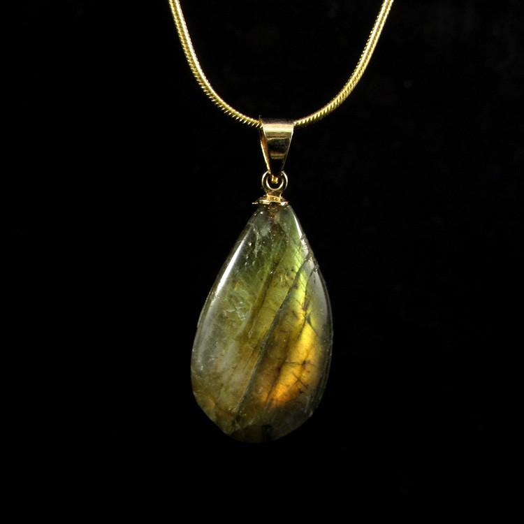 Pingente Labradorita Pedra Natural - 5243