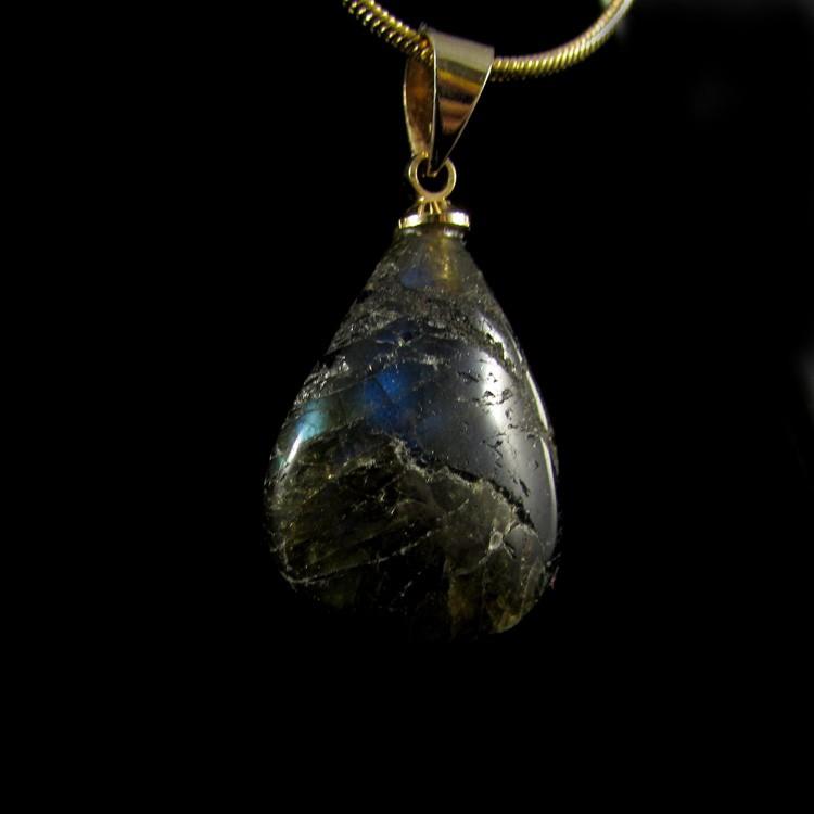 Pingente Labradorita Pedra Natural - 5245