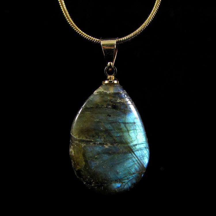 Pingente Labradorita Pedra Natural - 5259