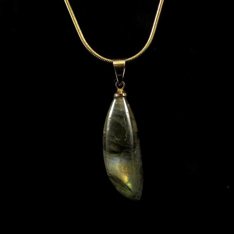 Pingente Labradorita Pedra Natural - 5261