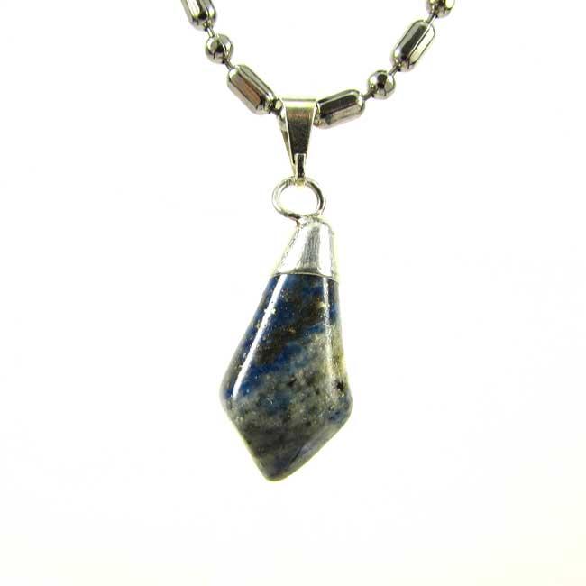 Pingente Lápis Lazuli Pedra Natural - 6031