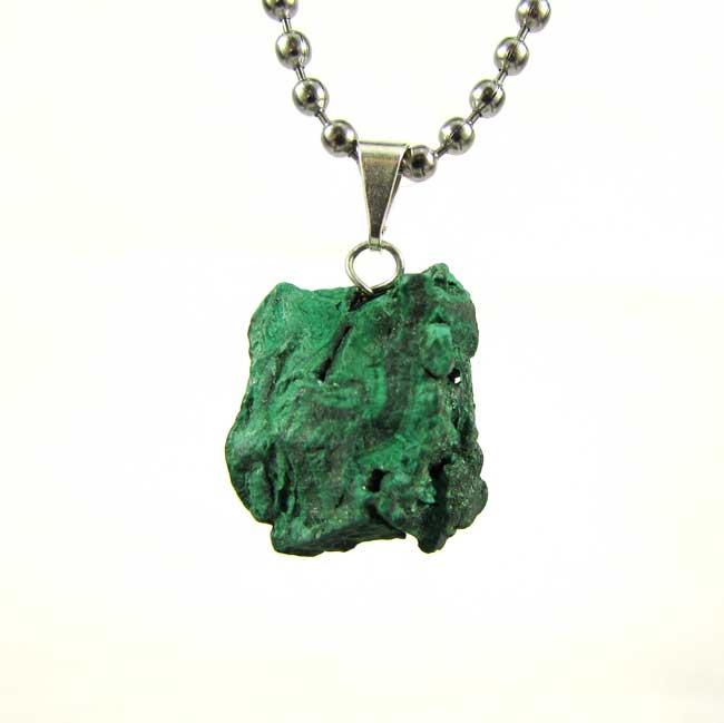 Pingente Malaquita Pedra Natural - 6785
