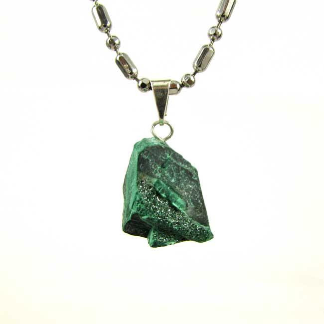 Pingente Malaquita Pedra Natural - 6789
