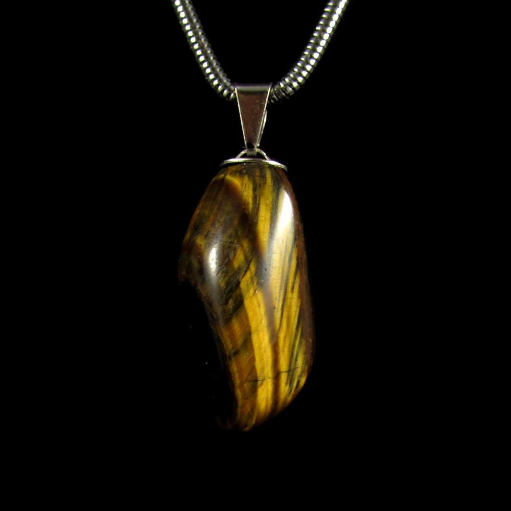 Pingente Olho de Tigre Pedra Natural - 2231