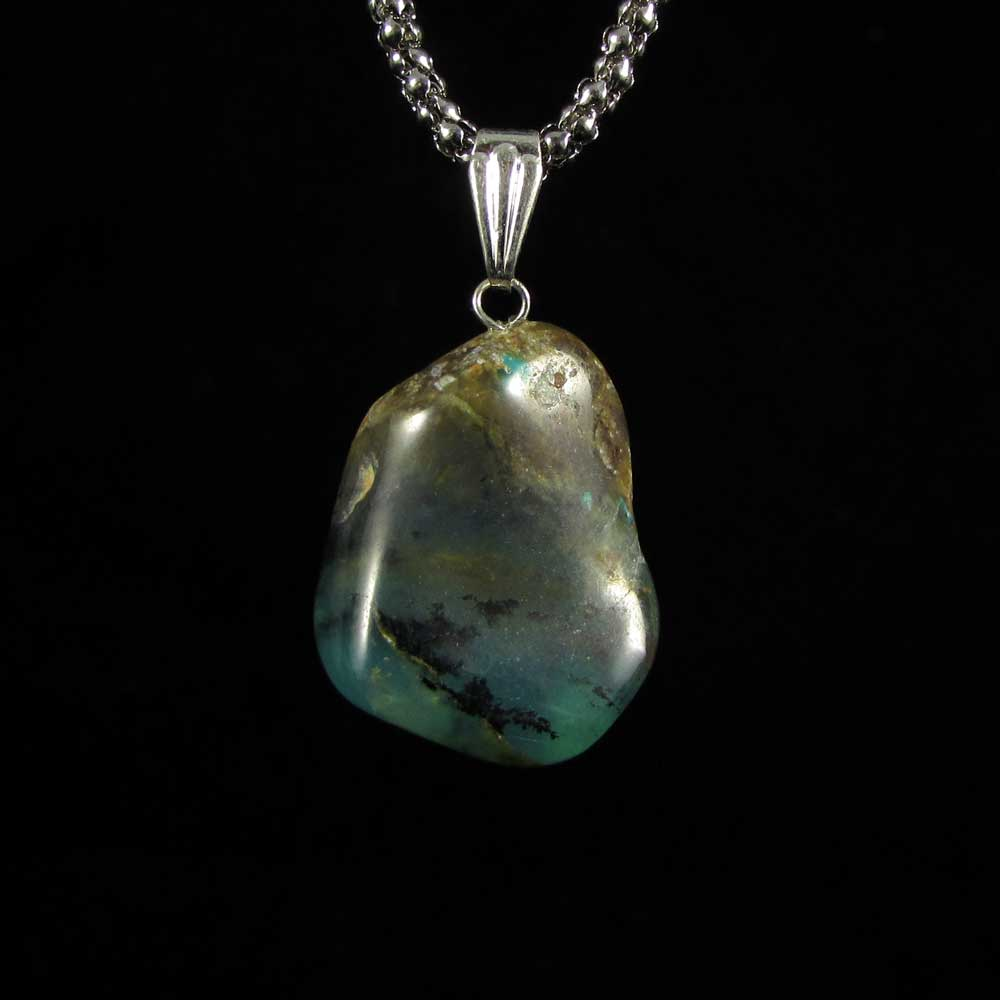 Pingente Opala Andina Pedra Natural