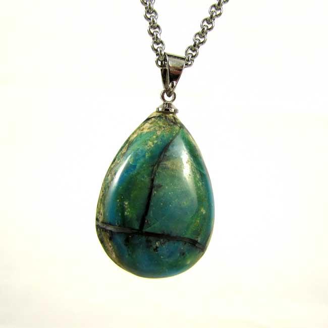 Pingente Opala Andina Pedra Natural - 6001
