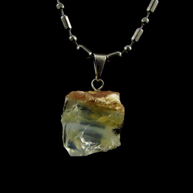 Pingente Opala Andina Pedra Natural - 6075