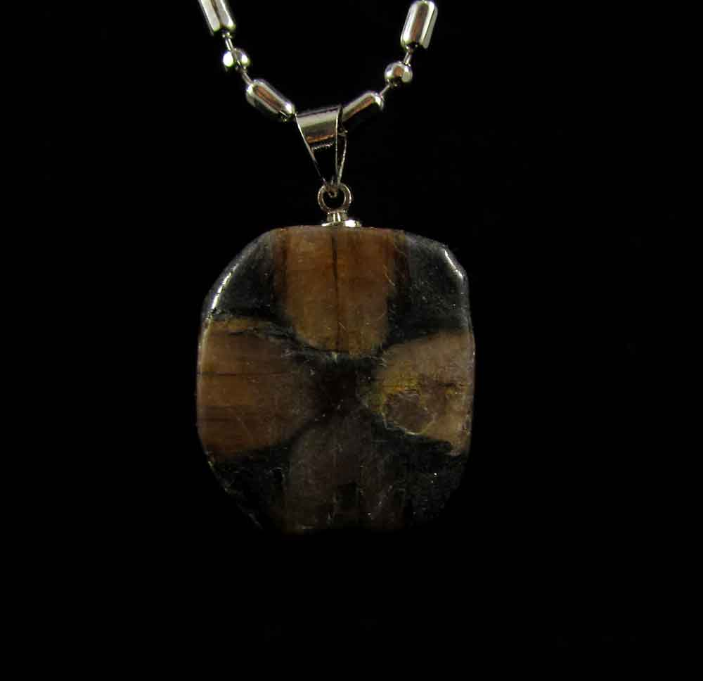 Pingente Pedra da Cruz Pedra Natural
