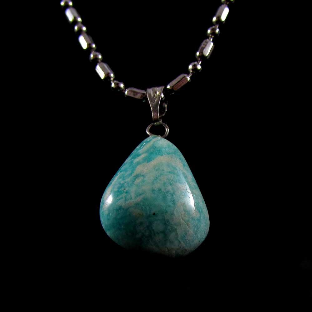 Pingente Pedra Natural Amazonita