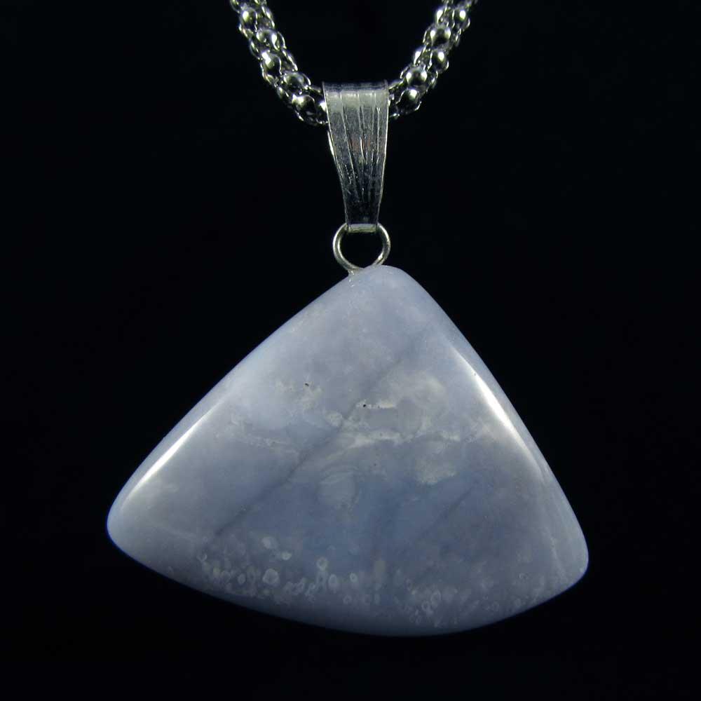 Pingente Pedra Natural Calcedônia