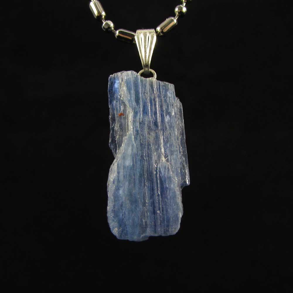 Pingente Pedra Natural Cianita Azul - Pedra de 2019