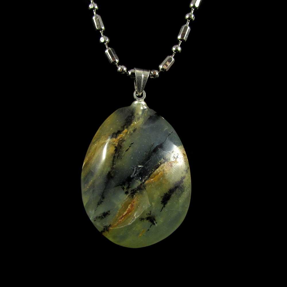 Pingente Pedra Natural de Opala Andina