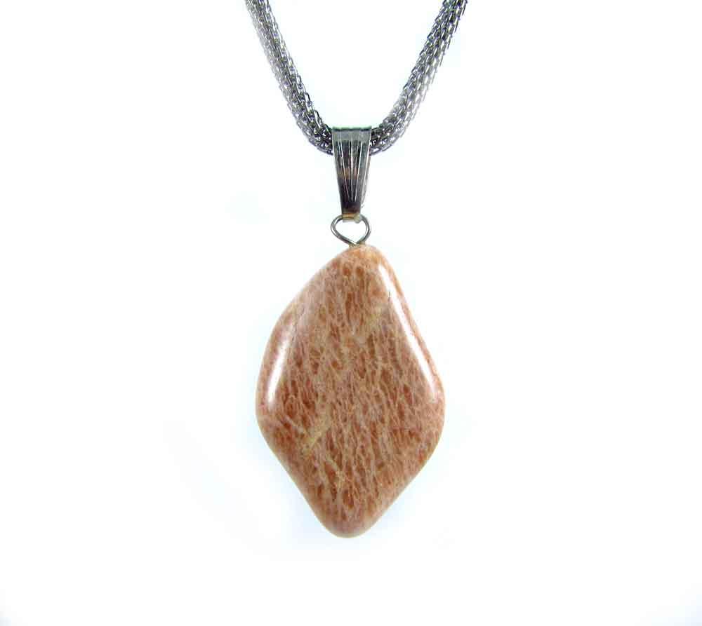 Pingente Pedra Natural Feldspato