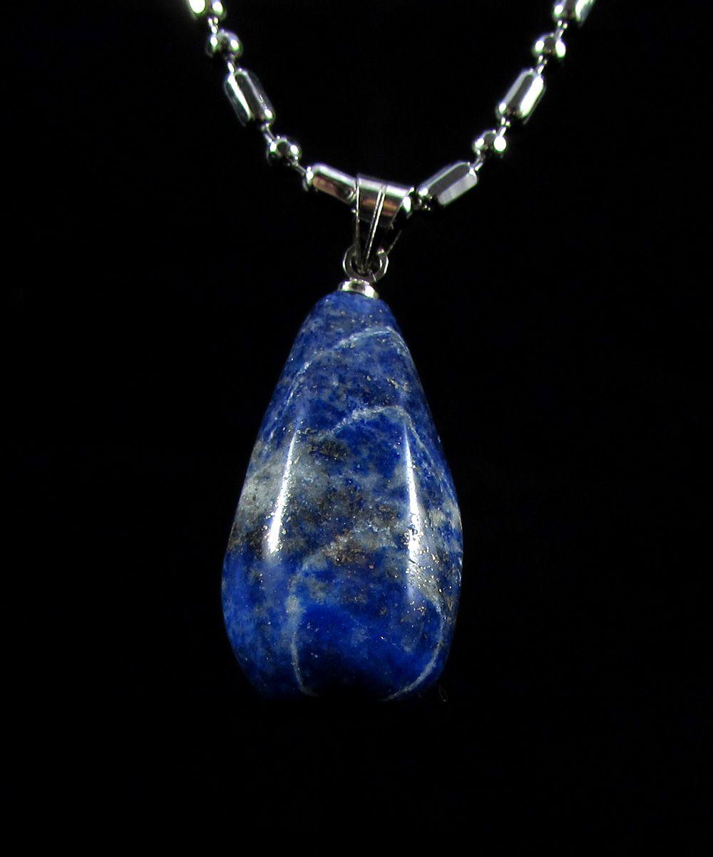 Pingente Pedra Natural Lápis Lazuli