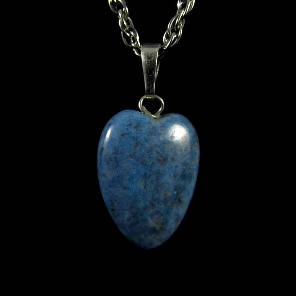 Pingente Pedra Natural Lápis Lazuli Coração (3319)