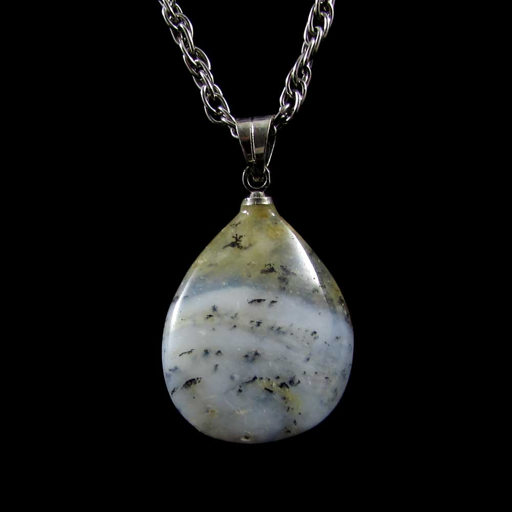 Pingente Pedra Natural Opala Andina