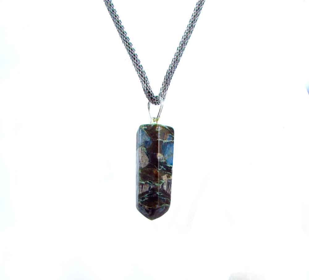 Pingente Pedra Natural Que Será  - Vulcanita