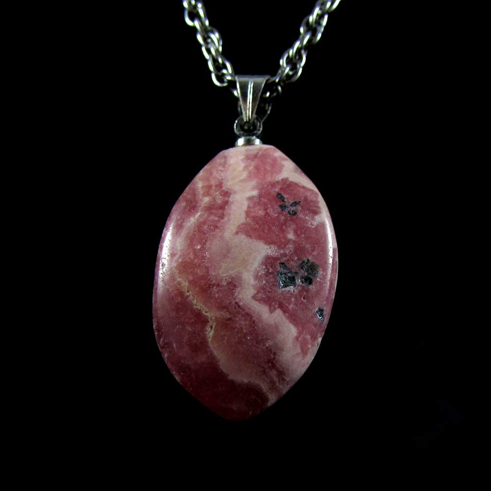 Pingente  Pedra Natural Rodocrosita