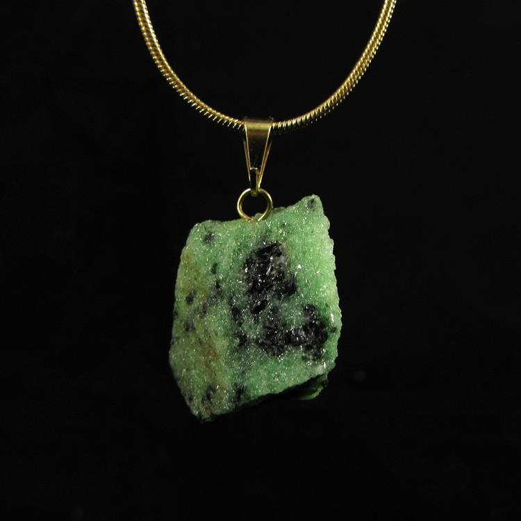 Pingente Pedra Natural Rubi Zoisite - 5121