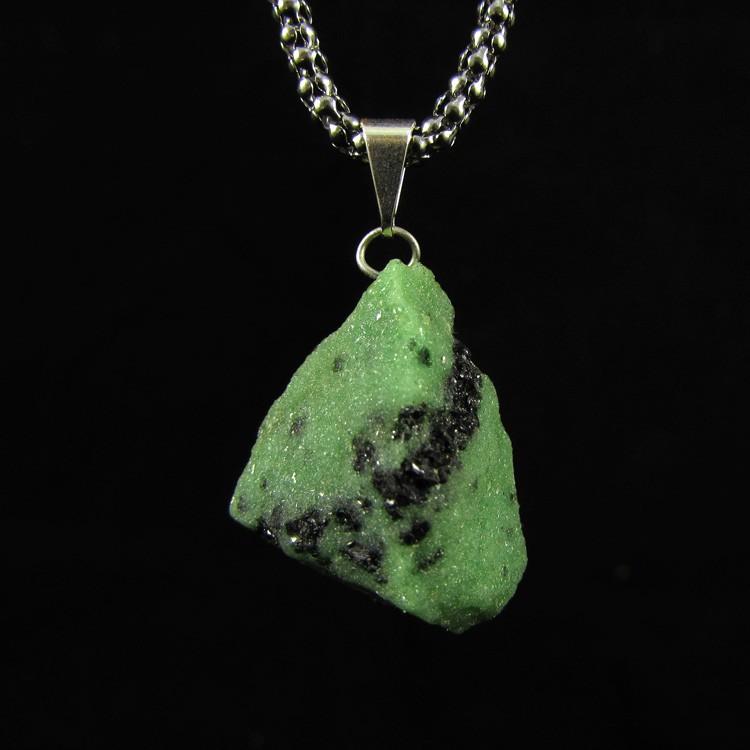 Pingente Pedra Natural Rubi Zoisite - 5123
